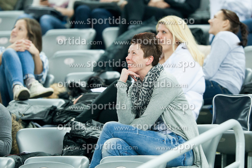 Sergeja Stefanisin at handball match between Netherlands and France at 11th EHF European Women's Handball Championship Hungary-Croatia 2014, on December 17, 2014 in Arena Zagreb, Zagreb, Croatia. Photo By Urban Urbanc / Sportida