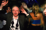 Old man dancing at Bedrock at Heaven London 2000