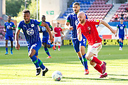 Charlton Athletic midfielder Jonathan Williams in possession of the ball  during the EFL Sky Bet Championship match between Wigan Athletic and Charlton Athletic at the DW Stadium, Wigan, England on 21 September 2019.