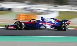 March 6, 2018 - Barcelona, Spain - Testvecka 2, Formel 1, Barcelona ..Pierre Gasly, Toro Rosso (Credit Image: © JerrevÃ…Ng Stefan/Aftonbladet/IBL via ZUMA Wire)