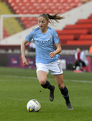 February 23, 2019 - Sheffield, England, United Kingdom - Janine Beckie (Manchester City) in possession during the  FA Women's Continental League Cup Final  between Arsenal and Manchester City Women at the Bramall Lane Football Ground, Sheffield United FC Sheffield, Saturday 23rd February. (Credit Image: © Action Foto Sport/NurPhoto via ZUMA Press)