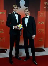17-12-2013 ALGEMEEN: SPORTGALA NOC NSF 2013: AMSTERDAM<br /> In de Amsterdamse RAI vindt het traditionele NOC NSF Sportgala weer plaats. Op deze avond zullen de sportprijzen voor beste sportman, sportvrouw, gehandicapte sporter, talent, ploeg en trainer worden uitgereikt / (L-R) Robert Meeuwsen en Alexander Brouwer<br /> ©2013-FotoHoogendoorn.nl