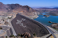 Barrage Youssef Ben Tachfine is a dam in the province of Tiznit south oif Agadir, Morocco, opened in 1972.