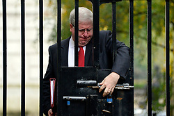 © Licensed to London News Pictures. 23/10/2012. Westminster, UK Transport Secretary Patrick McLoughlin. Ministers attend a Cabinet Meeting in 10 Downing Street today 23 October 2012. Photo credit : Stephen Simpson/LNP