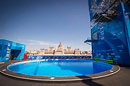 High Diving Podium<br /> Venue<br /> Day 17 30/07/2017<br /> XVII FINA World Championships Aquatics<br /> City Park - Varosliget Lake<br /> Budapest Hungary <br /> Photo Giorgio Scala/Deepbluemedia/Insidefoto
