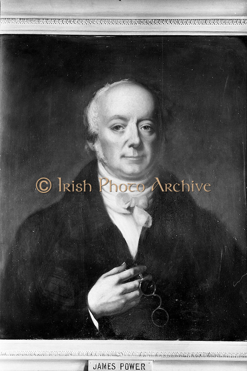 16/10/1962<br /> 10/16/1962<br /> 16 October 1962<br /> Photograph of portrait of Sir James Power founder of Powers Whiskey.