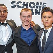 NLD/Amsterdam/20150907 - Premiere Schone Handen, .............., Sol Vinke en Kiano Visser