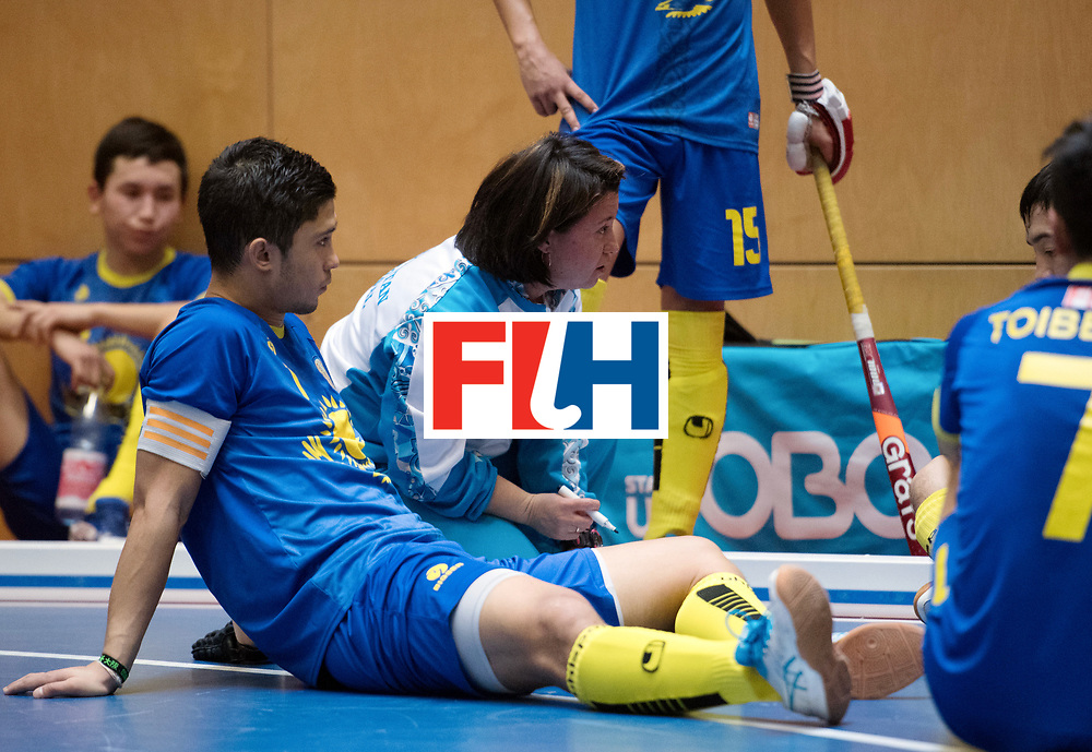 BERLIN - Indoor Hockey World Cup<br /> Kazakhstan - South Africa<br /> foto: URMANOVA Olga <br /> WORLDSPORTPICS COPYRIGHT FRANK UIJLENBROEK