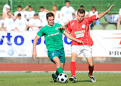 Davor Bubanja of Olimpija  at final match of 2nd SNL league between NK Olimpija in NK Aluminij, on May 23, 2009, ZAK, Ljubljana, Slovenia. Aluminij won 2:1. NK Olimpija is a Champion of 2nd SNL and thus qualified to 1st Slovenian football league for season 2009/2010. (Photo by Vid Ponikvar / Sportida)