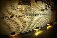 A quote on a wall in the Guinness Storehouse in Dublin, Ireland