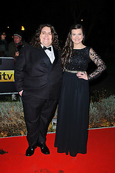 Jonathan and Charlotte during Night of Heroes: The Sun Military Awards held at the Imperial War Museum, London, England, December 6, 2012. Photo by Chris Joseph / i-Images.
