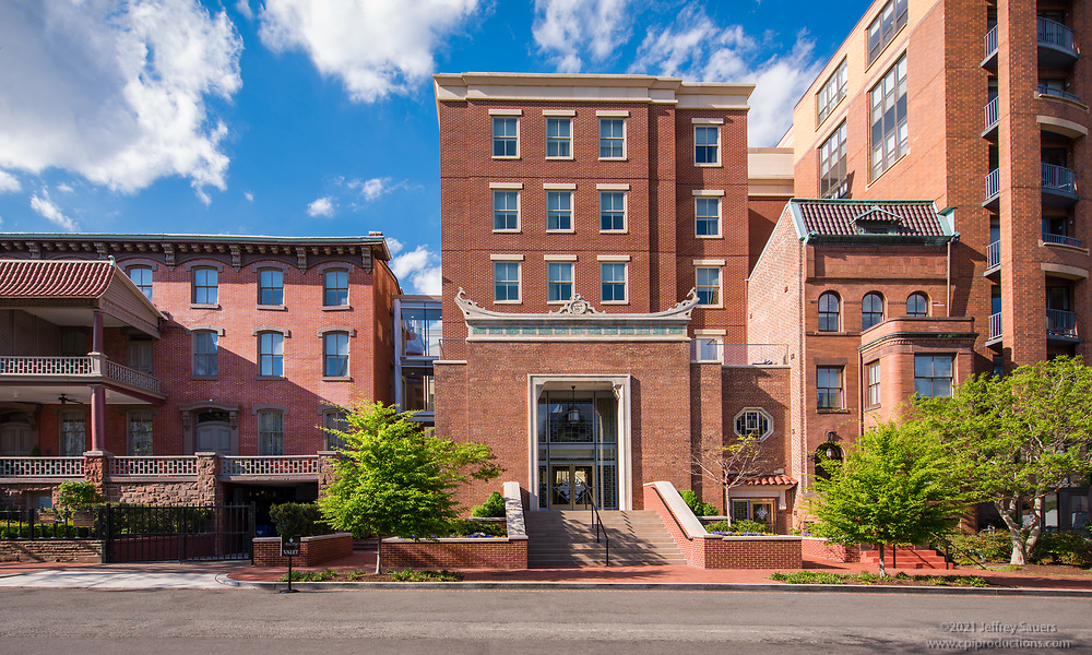DC architectural image of Morrison Clark Historic Inn and Restaurant by Jeffrey Sauers of Commercial Photographics, Architectural Photo Artistry in Washington DC, Virginia to Florida and PA to New England