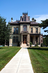 7 August 2010:  David Davis Mansion, Bloomington Illinois