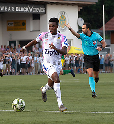 20.07.2019, Vöcklamarkt, AUT, OeFB Uniqa Cup, Sportunion Vöcklamarkt vs LASK, 1. Runde, im Bild Samuel Tetteh (LASK Linz) // during the ÖFB Uniqa Cup, 1st round match between Sportunion Vöcklamarkt and LASK in Vöcklamarkt, Austria on 2019/07/20. EXPA Pictures © 2019, PhotoCredit: EXPA/ Reinhard Eisenbauer