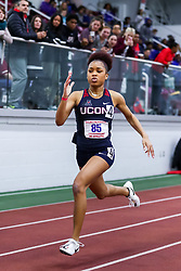 ECAC/IC4A Track and Field Indoor Championships<br /> 200 meters, UConn, Shanelle Colmon