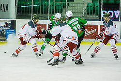 ice hockey match between HDD Olimpija Ljubljana and HC Bolzano in EBEL league, on Januar 9th, 2017 in Hala Tivoli, Ljubljana, Slovenia. Photo by Grega Valancic / Sportida