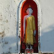Wat Jet Yot in Chiang Rai, Thailand.