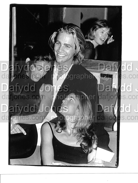 Mary Boore Matthew Nye Kelly Klein up town Barneys Opening 1993 © Copyright Photograph by Dafydd Jones 66 Stockwell Park Rd. London SW9 0DA Tel 020 7733 0108 www.dafjones.com
