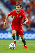 Portugal midfielder Bernardo Silva (10) during the UEFA Nations League match between Portugal and Netherlands at Estadio do Dragao, Porto, Portugal on 9 June 2019.
