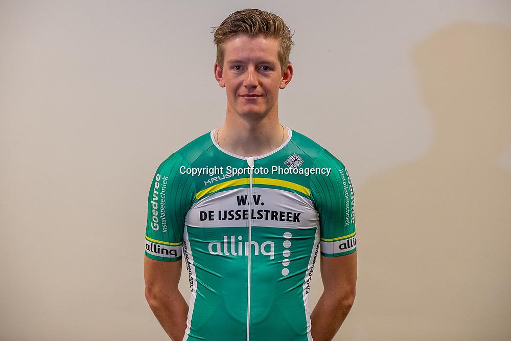 25-02-2020: Wielrennen: Teampresentatie IJsselstreek; Harderwijk <br /> Harm Celi