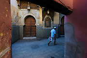 Medieval city of Fes el Bali