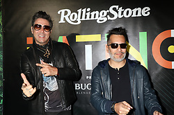 Los Rabanes attending Rolling Stone Magazine Celebrates Latin Music's Biggest Night, at Palms Resort & Casino in Las Vegas, Nevada
