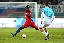 Danny Rose of England takes on Valter Birsa of Slovenia - Mandatory by-line: Robbie Stephenson/JMP - 11/10/2016 - FOOTBALL - RSC Stozice - Ljubljana, England - Slovenia v England - World Cup European Qualifier