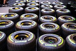 May 9, 2019 - Barcelona, BARCELONA, SPAIN - BARCELONA, SPAIN, 9 May 2019, Circuit de Barcelona Catalunya; Pirelli tyres at Circuit de Barcelona Catalunya (Credit Image: © AFP7 via ZUMA Wire)