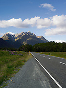 Highway 94, on the way from Te Anau to Milford Sound, Fiordland National Park, Southland, New Zealand