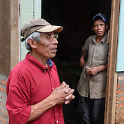 Community La Reyna, Matagalpa - Nicaragua 10-2014<br /> Photography by Aaron Sosa<br /> <br /> CECOCAFEN Project<br /> Cooperative Danilo González.<br /> <br /> In this farm is one of the Biodigestores, harvest time when the first coffee bean washing water is taken as the ferment produces gas that is needed for use in the kitchen.
