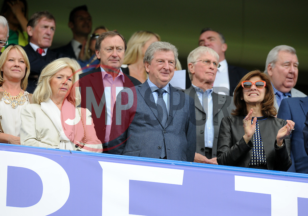 England manager Roy Hodgson watches in the stands at Stamford Bridge.- Photo mandatory by-line: Alex James/JMP - Mobile: 07966 386802 - 10/05/2015 - SPORT - Football - London - Stamford Bridge - Chelsea v Liverpool - Barclays Premier League