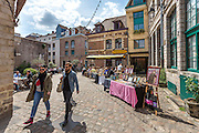 Place des oignons dans le quartier du vieux Lille // Place des oignons in old town district