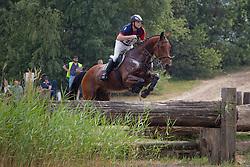 Grouwels Sven (BEL) - Vennoot uit de Melle<br /> Nationaal kampioenschap LRV eventing - Minderhout 2011<br /> © Dirk Caremans