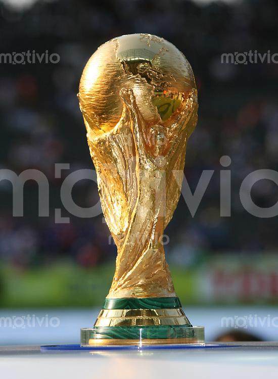 Fussball WM 2006  Finale   Italien 5-3 Frankreich n.E. WM Pokal