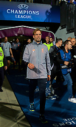 MARIBOR, SLOVENIA - Tuesday, October 17, 2017: Liverpool's manager Jürgen Klopp before the UEFA Champions League Group E match between NK Maribor and Liverpool at the Stadion Ljudski vrt. (Pic by David Rawcliffe/Propaganda)