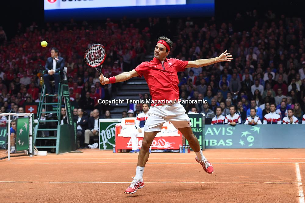 Gael Monfils (Fra) vs Roger Federer (Sui)