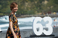 092415 63rd San Sebastian International Film Festival: 'Les Chevaliers Blancs' Photocall