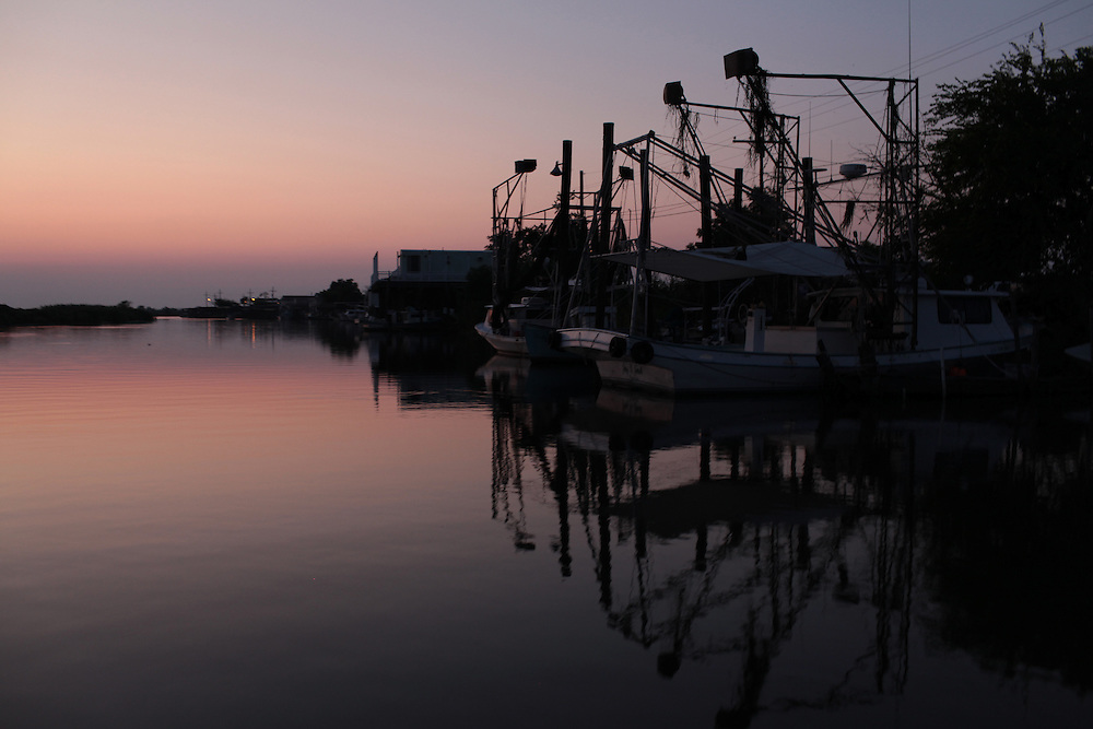 Delacroix Island in Louisiana, August 25th, 2010.