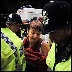 File Photo - Caroline Lucas not found guilty in fracking trial