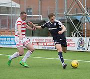 Dundee&rsquo;s Greg Stewart and Hamilton&rsquo;s Darian MacKinnon - Hamilton v Dundee, Ladbrokes Scottish Premiership at New Douglas Park<br />  <br />  - &copy; David Young - www.davidyoungphoto.co.uk - email: davidyoungphoto@gmail.com