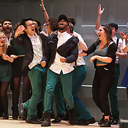 University of Durham's Northern Lights a cappella group win the quarterfinals of the 2017 ICCA UK competition. They will compete in the semifinals on 25th March in London. 19 Feb 2017 Queen's Hall, Edinburgh. © photograph by Tina Norris. No unauthorised use including web use. Contact Tina on 07775 593 830 info@tinanorris.co.uk