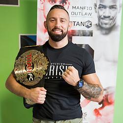 Uros Jurisic at press conference of  MMA Fihgter - Uros Jurisic, on July 13, 2018 in Jungle Gym, Ljubljana, Slovenia. Photo by Urban Urbanc / Sportida