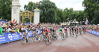 Marcel Kittel; Peter Sagan; Mark Renshaw, Tour de France London, Buckingham Palace, London UK, 07 July 2014, Photo by Richard Goldschmidt