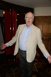 SIR TIM RICE at a private performance by Frances Ruffelle entitled 'Paris Original' at The Crazy Coqs, Brasserie Zedel, 20 Sherwood Street, London on 8th October 2013.