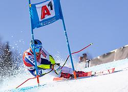 24.01.2020, Streif, Kitzbühel, AUT, FIS Weltcup Ski Alpin, SuperG, Herren, im Bild Miha Hrobat (SLO) // Miha Hrobat of Slovenia in action during his run for the men's SuperG of FIS Ski Alpine World Cup at the Streif in Kitzbühel, Austria on 2020/01/24. EXPA Pictures © 2020, PhotoCredit: EXPA/ Johann Groder