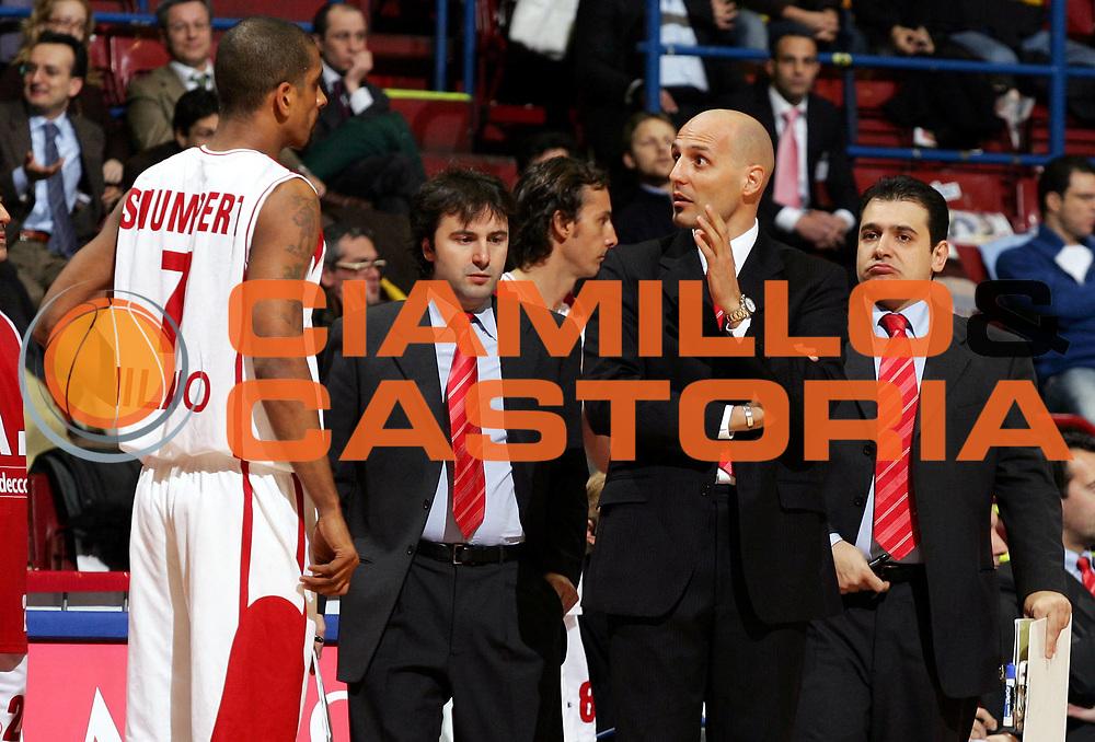 DESCRIZIONE : Milano Eurolega 2005-06 Armani Jeans Olimpia Milano Maccabi Elite Tel Aviv<br /> GIOCATORE : Djordjevic<br /> SQUADRA : Armani Jeans Olimpia Milano<br /> EVENTO : Eurolega 2005-2006<br /> GARA : Armani Jeans Olimpia Milano Maccabi Elite Tel Aviv<br /> DATA : 26/01/2006<br /> CATEGORIA : <br /> SPORT : Pallacanestro<br /> AUTORE : Agenzia Ciamillo-Castoria/L.Lussoso<br /> Galleria : Eurolega 2005-2006<br /> Fotonotizia : Milano Eurolega 2005-2006 Armani Jeans Olimpia Milano Maccabi Elite Tel Aviv<br /> Predefinita :
