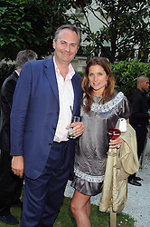 WILLIAM and VANESSA CASH at the Tatler Summer Party, The Hempel Hotel, 31-35 Craven Hill Gardens, London W2 on 25th June 2008.<br />