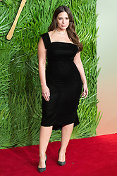 © Licensed to London News Pictures. 04/12/2017. London, UK. ASHLEY GRAHAM arrives for The Fashion Awards 2017 held at the Royal Albert Hall. Photo credit: Ray Tang/LNP