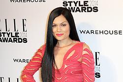 © Licensed to London News Pictures. 18/02/2014, UK. Jessie J, ELLE Style Awards, One Embankment, London UK, 18 February 2014. Photo credit : Richard Goldschmidt/Piqtured/LNP