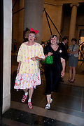GRAYSON PERRY; PHILLIPA PERRY, Tate Britain Summer Party 2009. Millbank. London. 29 June 2009
